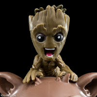 "Q-fig de Rocket y Groot de ""Guardians of the Galaxy Vol 2"" - QMX"