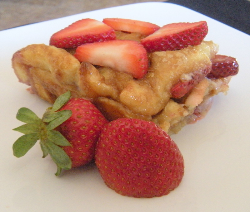 Strawberry Waffles Food Network