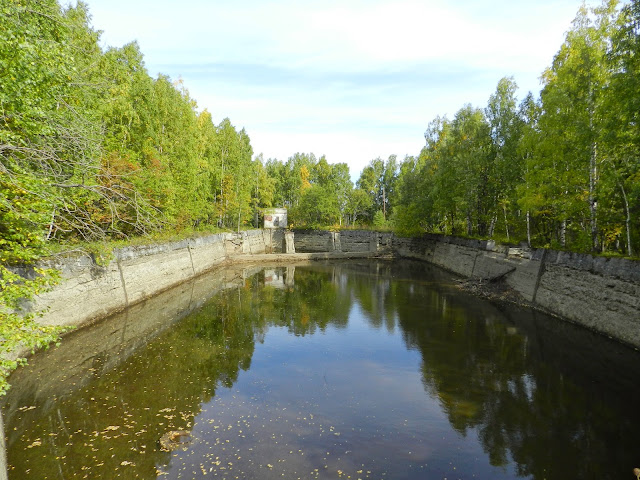 Плотина на озере Зюраткуль