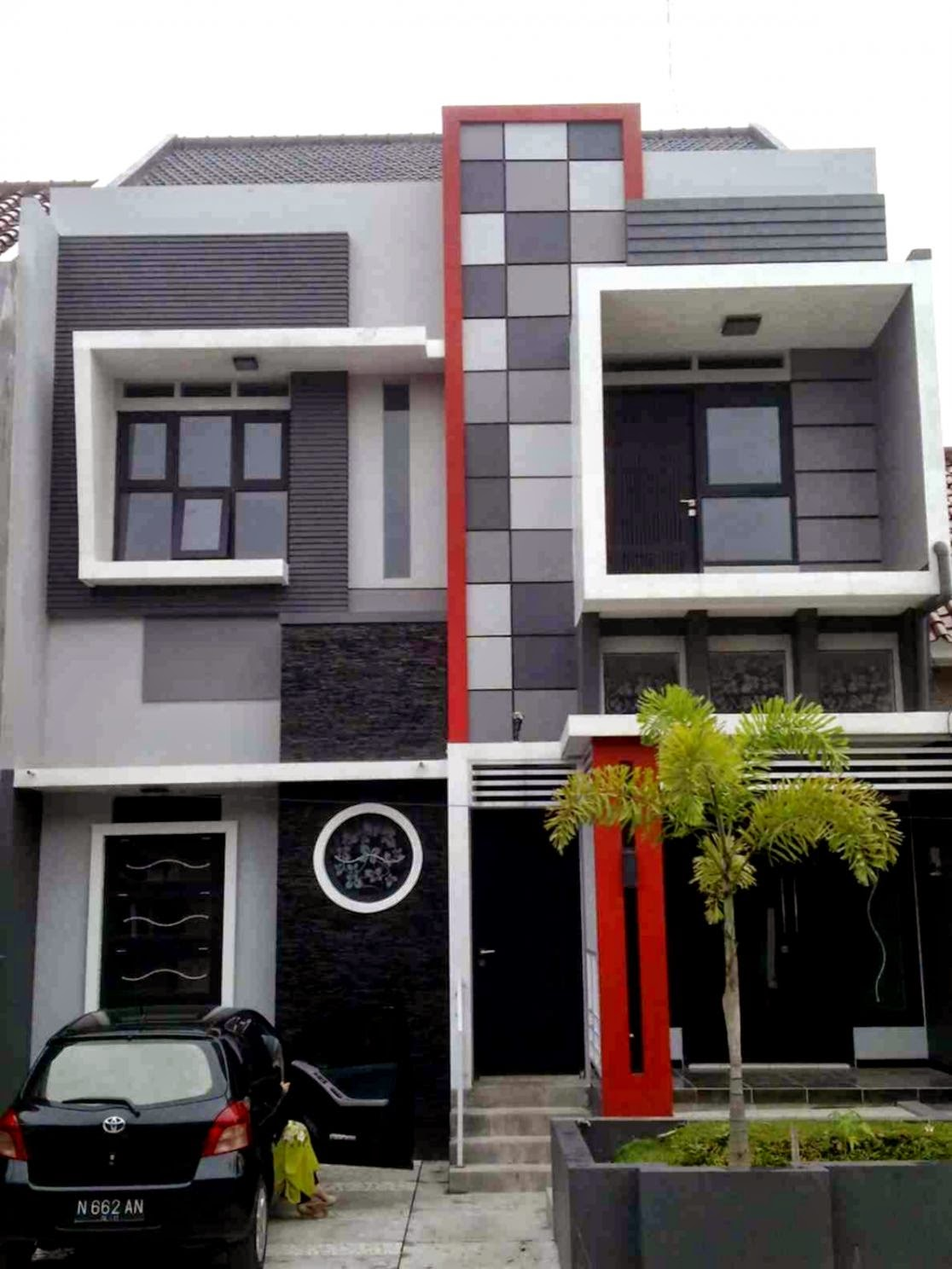 Desain Rumah 2 Lantai Minimalis Modern Design Rumah Minimalis