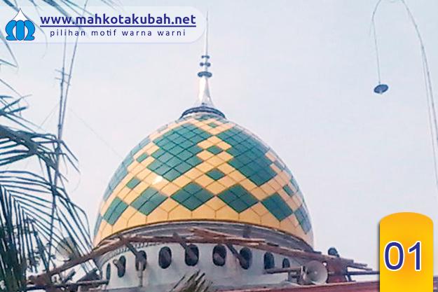 Motif Kubah Enamel Warna Warni Pesan Kubah Masjid Online