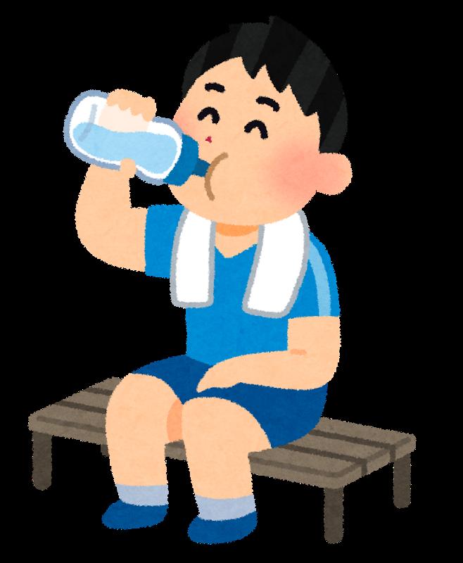 図:水分摂取量と脳梗塞死亡リスク