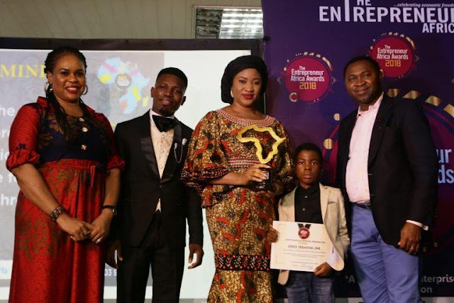Ubi Franklin, Sandra Ikeji, other Clinch The Entrepreneur Africa Awards 2018