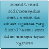 COSO Sistem Pengendalian Intern