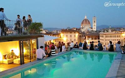 Una Serata D Estate A Firenze Al Grand Hotel Minerva