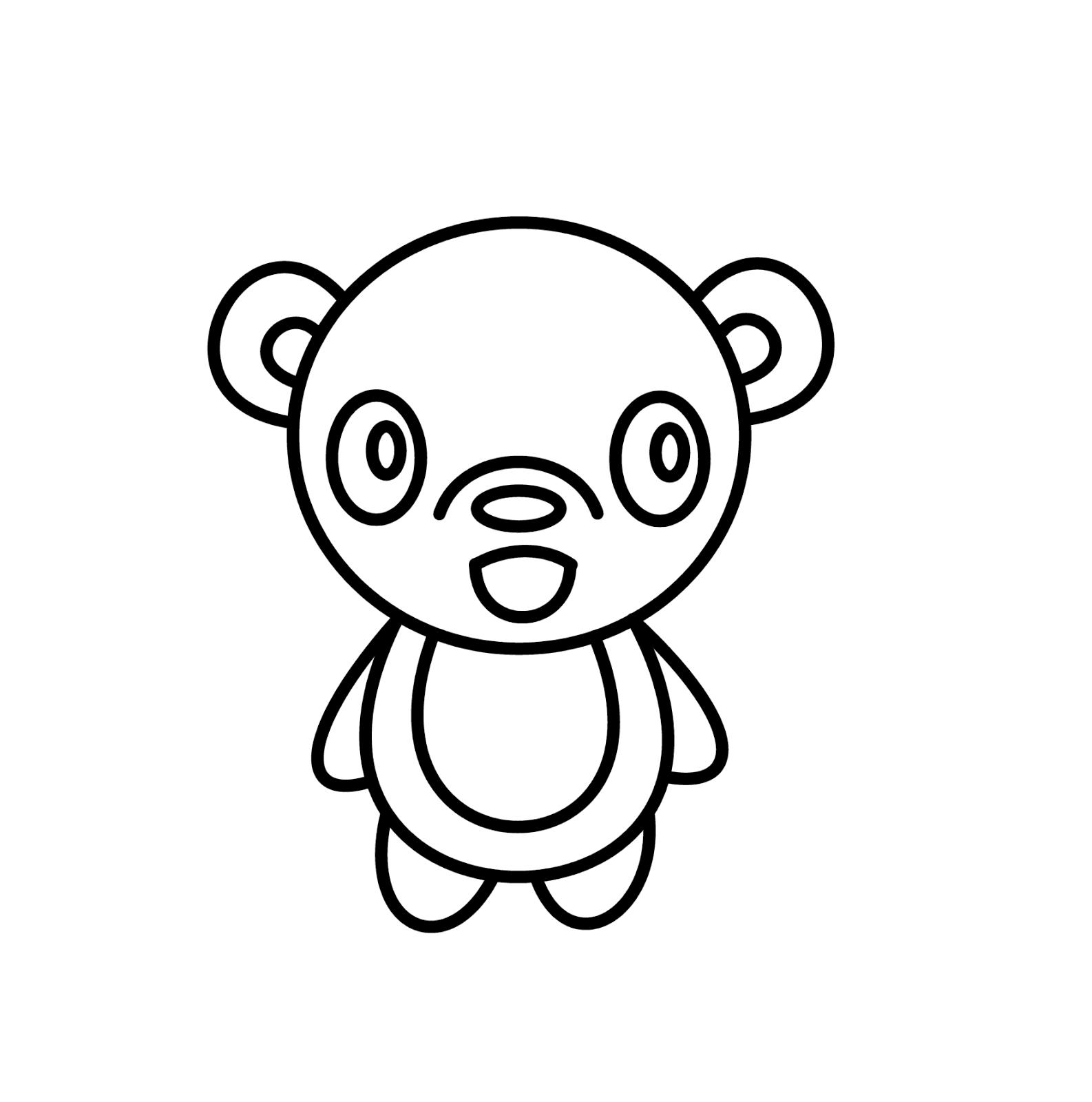 How To Draw Cartoons Panda
