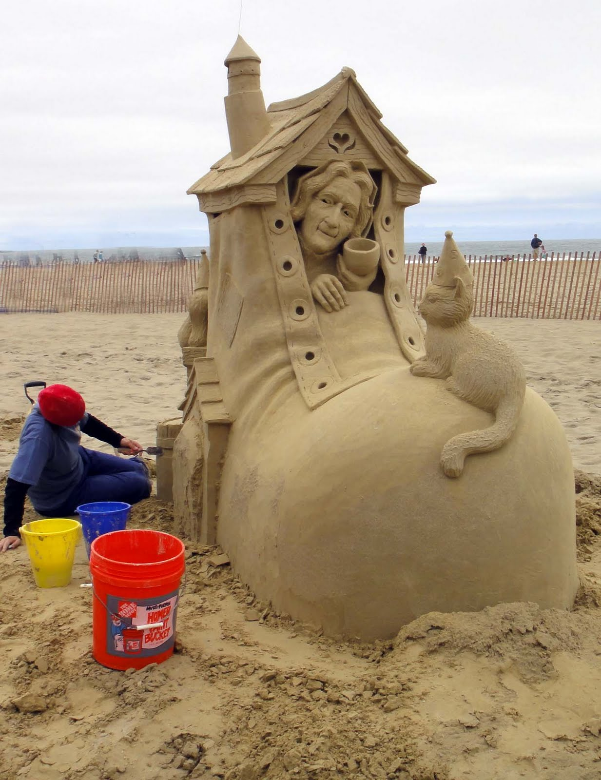 Joe's Retirement Blog: Sand Sculpting, Hampton Beach, New