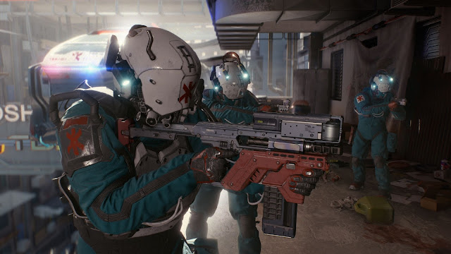 Screenshot from Cyberpunk 2077
