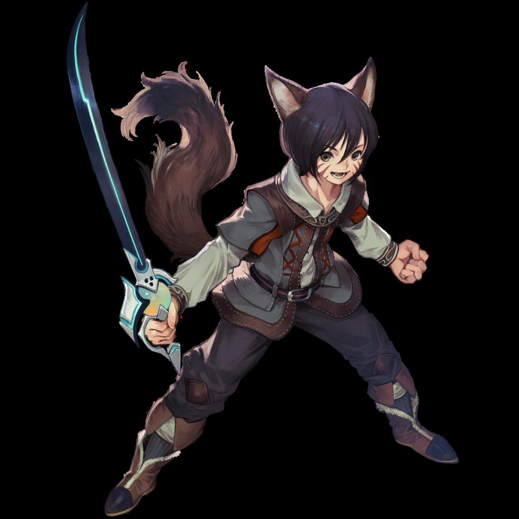 render Star Ocean  - Warrior