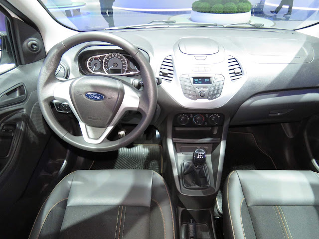 Novo Ford Ka 2017 Trail - interior