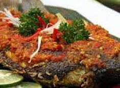 Resep masakan indonesia ikan bandeng bakar bumbu rujak spesial (istimewa) praktis mudah sedap, nikmat, enak, gurih lezat