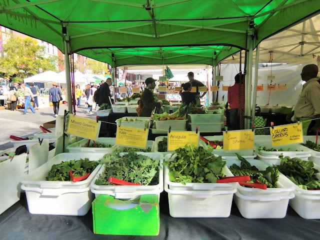 Green market - Union Square - New-York - salad