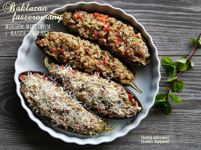 Bakłażan faszerowany mięsem i kaszą jaglaną - Czytaj więcej »