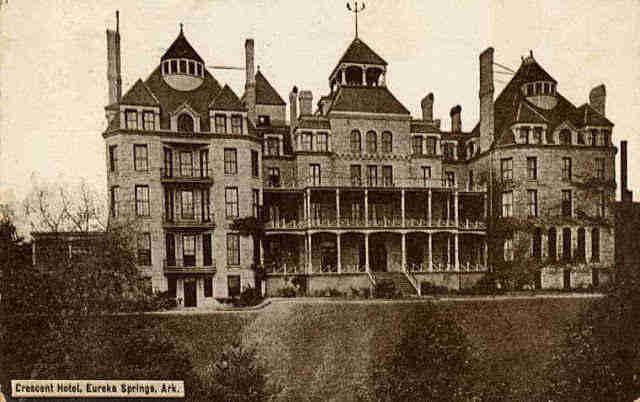 Crescent Hotel hotel paling berhantu dan paling angker dan menakutkan di dunia