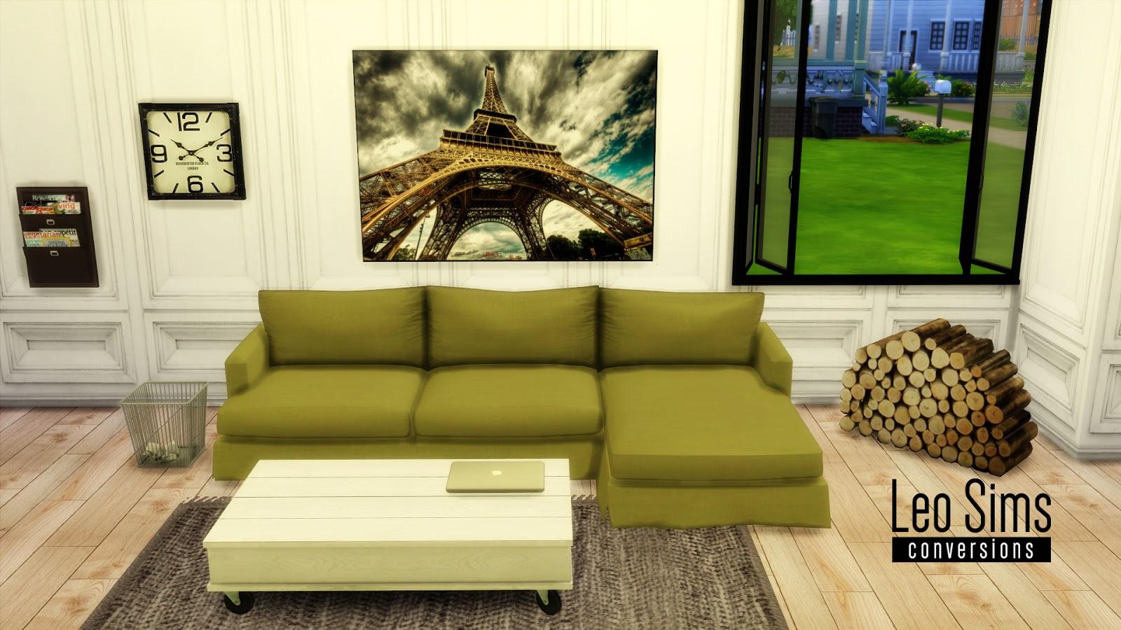 Ts2 Sofa Conversion By Leo4sims