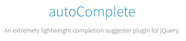 PixaBay jQuery-autoComplete