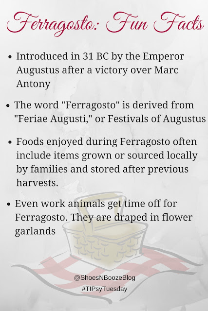 Fun Ferrogosto Facts from Shoes N Booze
