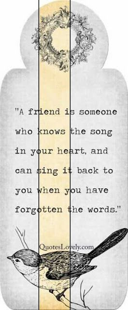 Who knows the song in your heart