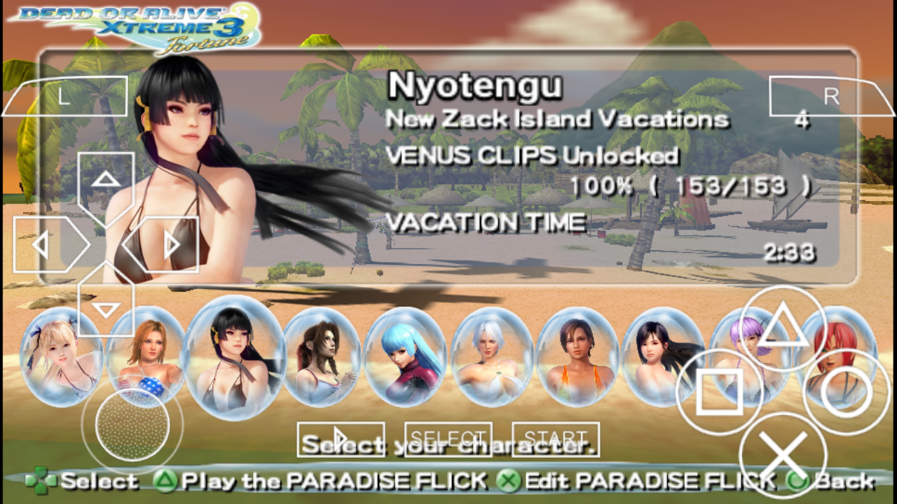 dead or alive xtreme 3 android game download