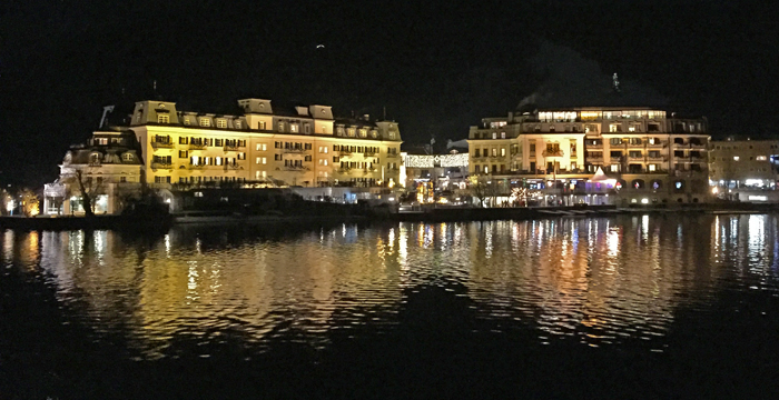 Grand Hotel Zell Am See Im Winter