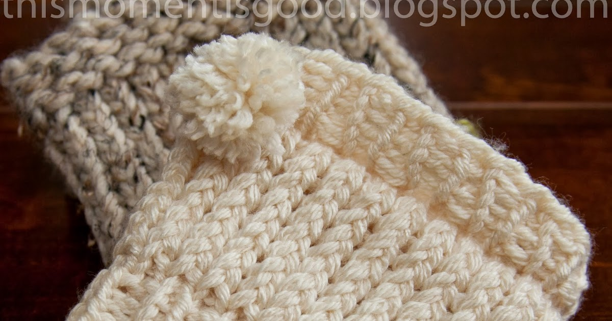 Loom Knit Boot Cuff Loom Knitting By This Moment Is Good