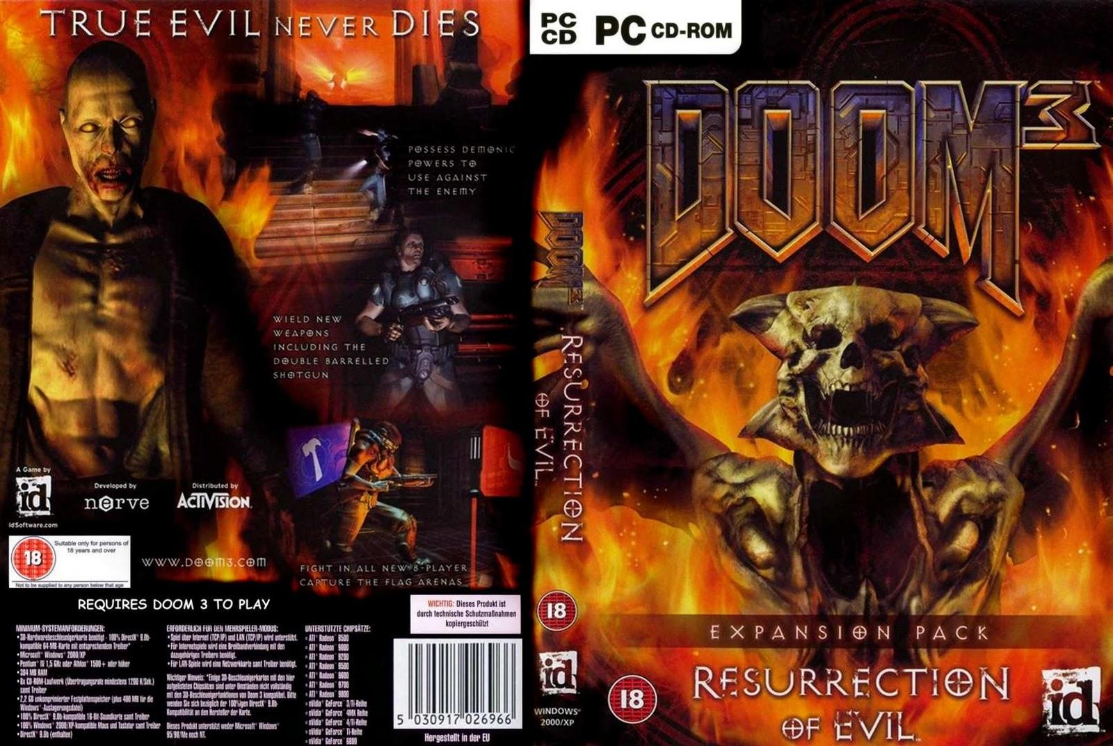Doom 3: Resurrection of Evil full game free pc, download, play  Doom