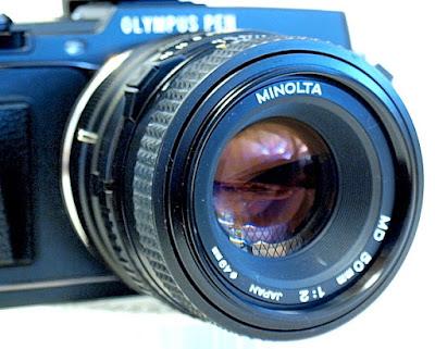Minolta MD 50mm f/2
