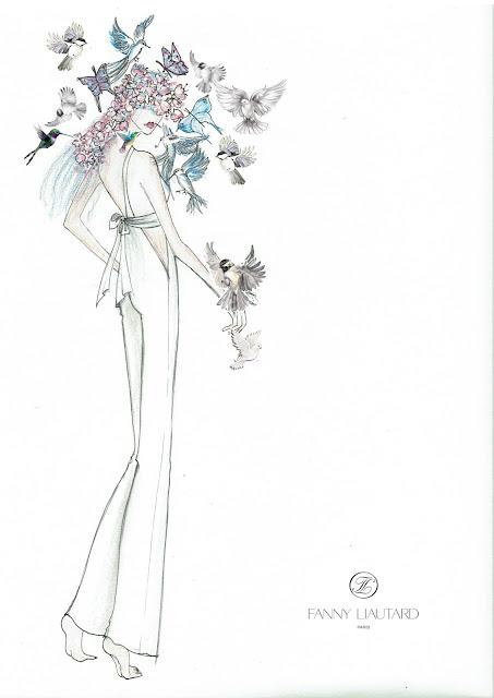 FANNY LIAUTARD collection robes de mariée , robes de soirées , Paris créateur sur mesure