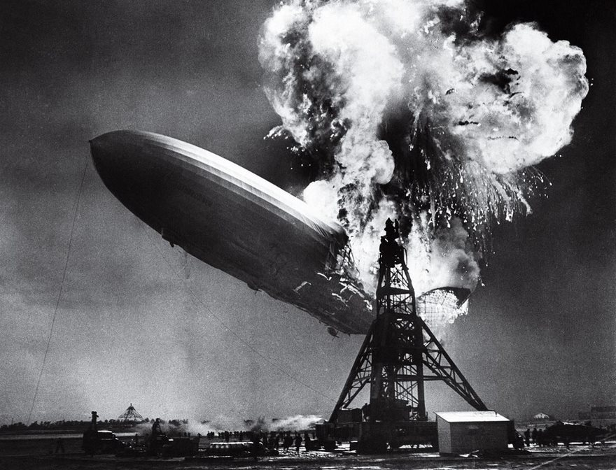 #18 The Hindenburg Disaster, Sam Shere, 1937 - Top 100 Of The Most Influential Photos Of All Time