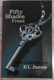 Novel Fifty Shades of Freed EL James Bekas