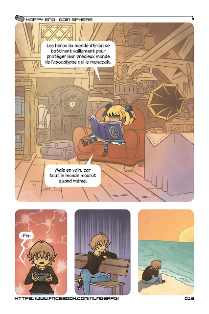 Odin Sphere comic