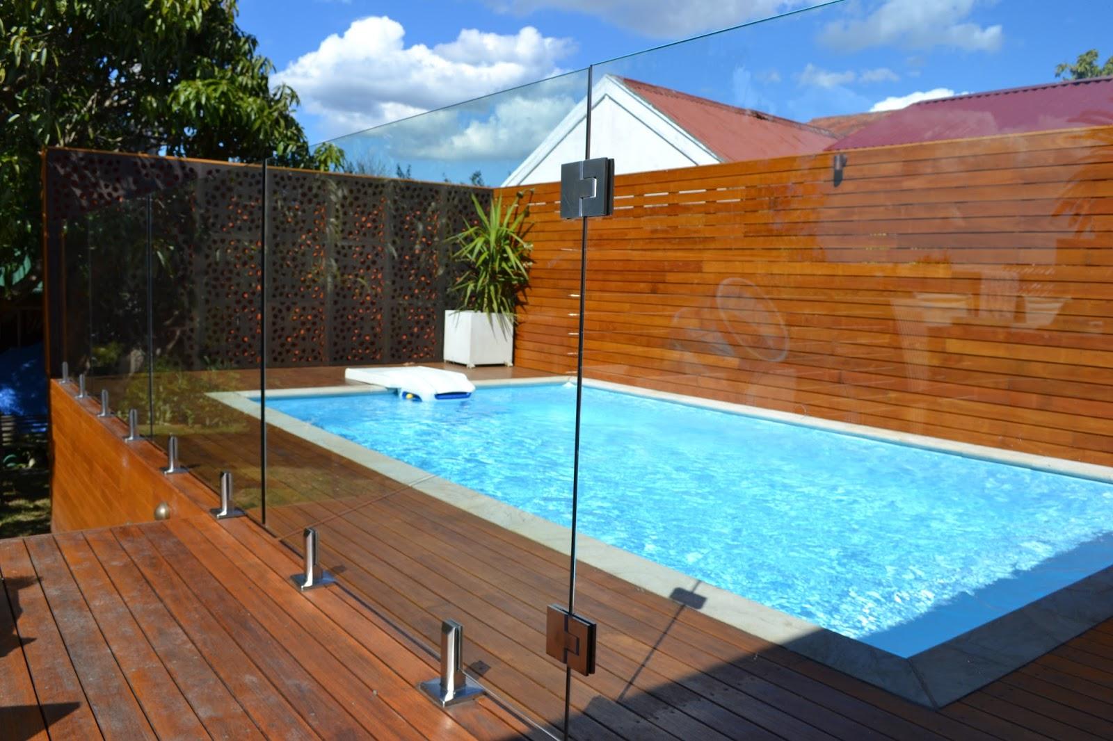 Glass Pool Fence glass pool fences ~ shower doors brooklyn