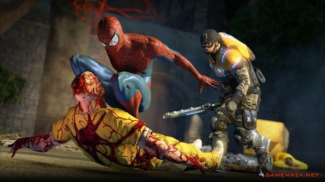 The Amazing Spiderman Gameplay Screenshot 4