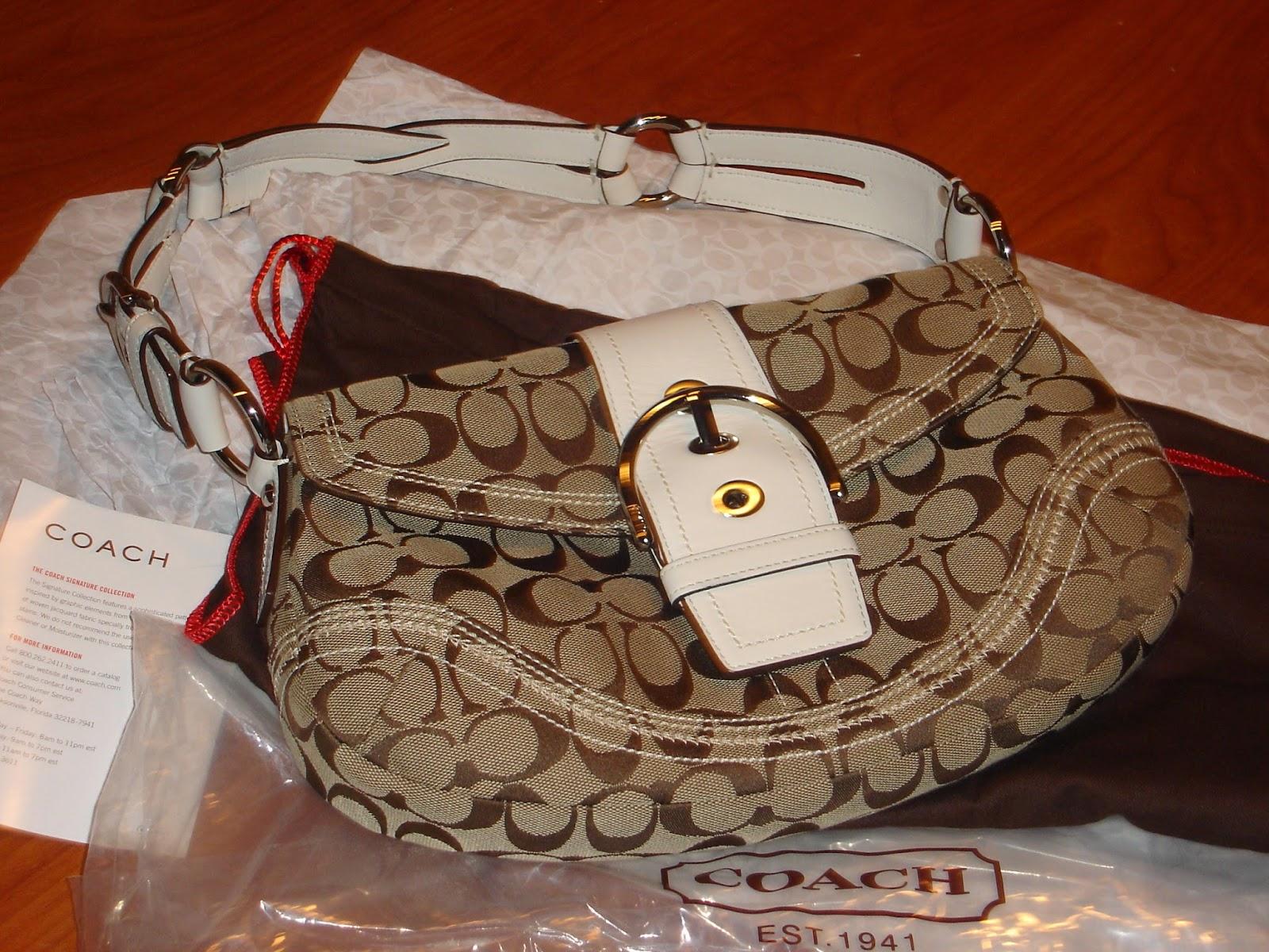 FASHION  Asesoría para vestir bien.  Como reconocer una bolsa COACH ... c6b04f45db5
