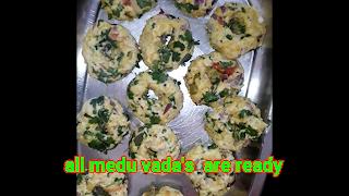 image of made medu vadas
