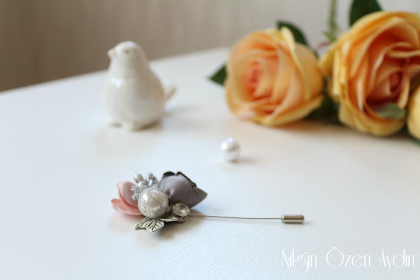 alışveriş-Broşlar-kelebek-yusufçuk ve çiçek broşları