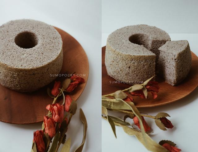 Earl Grey Lavender Chiffon Cake recipe