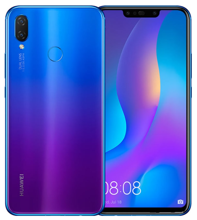 HUAWEI Nova 3 vs HUAWEI Nova 3i full comparison and