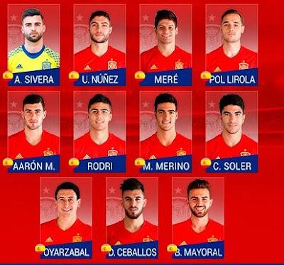 Spain U21 team