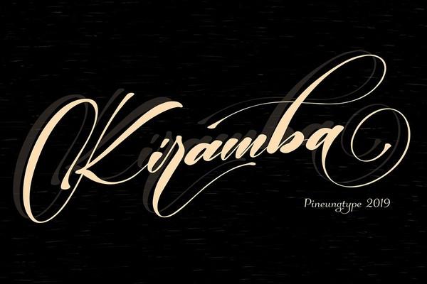 Kiramba Font