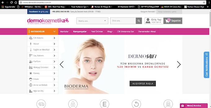 Dermokozmetika.com.tr // Tanıtım ve Ürün İnceleme