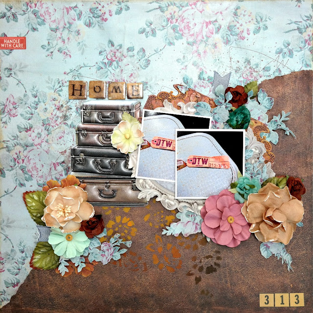 Home by Dana Tatar for Scraps of Darkness - May Attic Finds Kit
