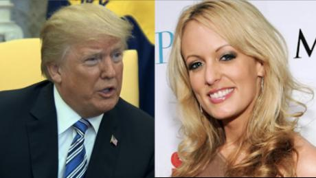 Porn actress Stormy Daniels sues Trump, says hush agreement is null because he didn't sign it