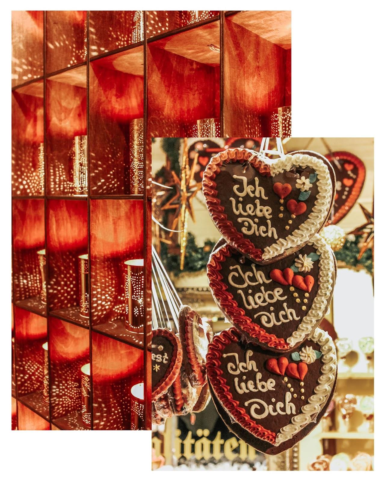 Ich Liebe Dich Heart Cookie Christmas Market