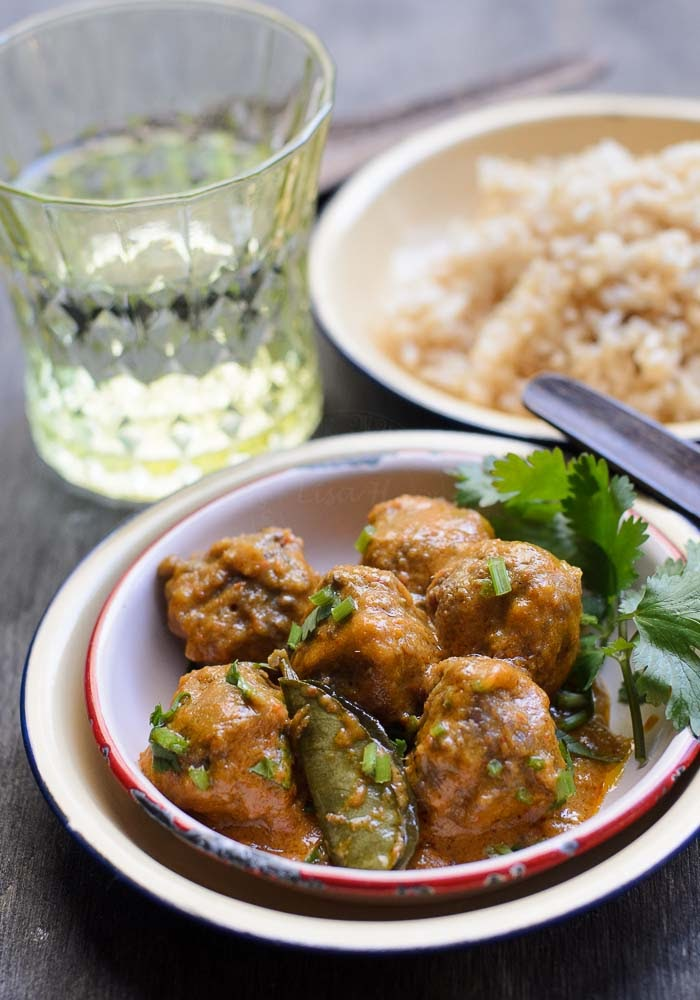 Creamy Thai Red Curry Meatballs