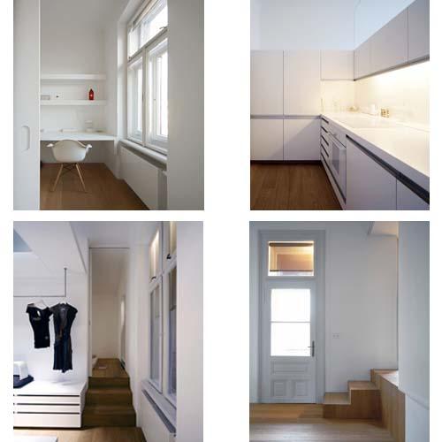 Appartamento su due livelli in slovenia arredamento facile for Arredo bagno con due lavelli