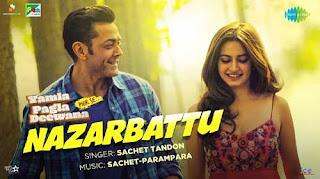 Nazarbattu Lyrics | Yamla Pagla Deewana Phir Se | Bobby Deol | Kriti Kharbanda | Sachet Tandon