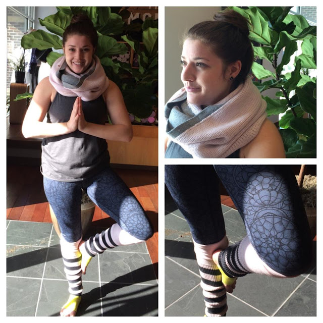 lululemon blissed out  legwarmers prisma print