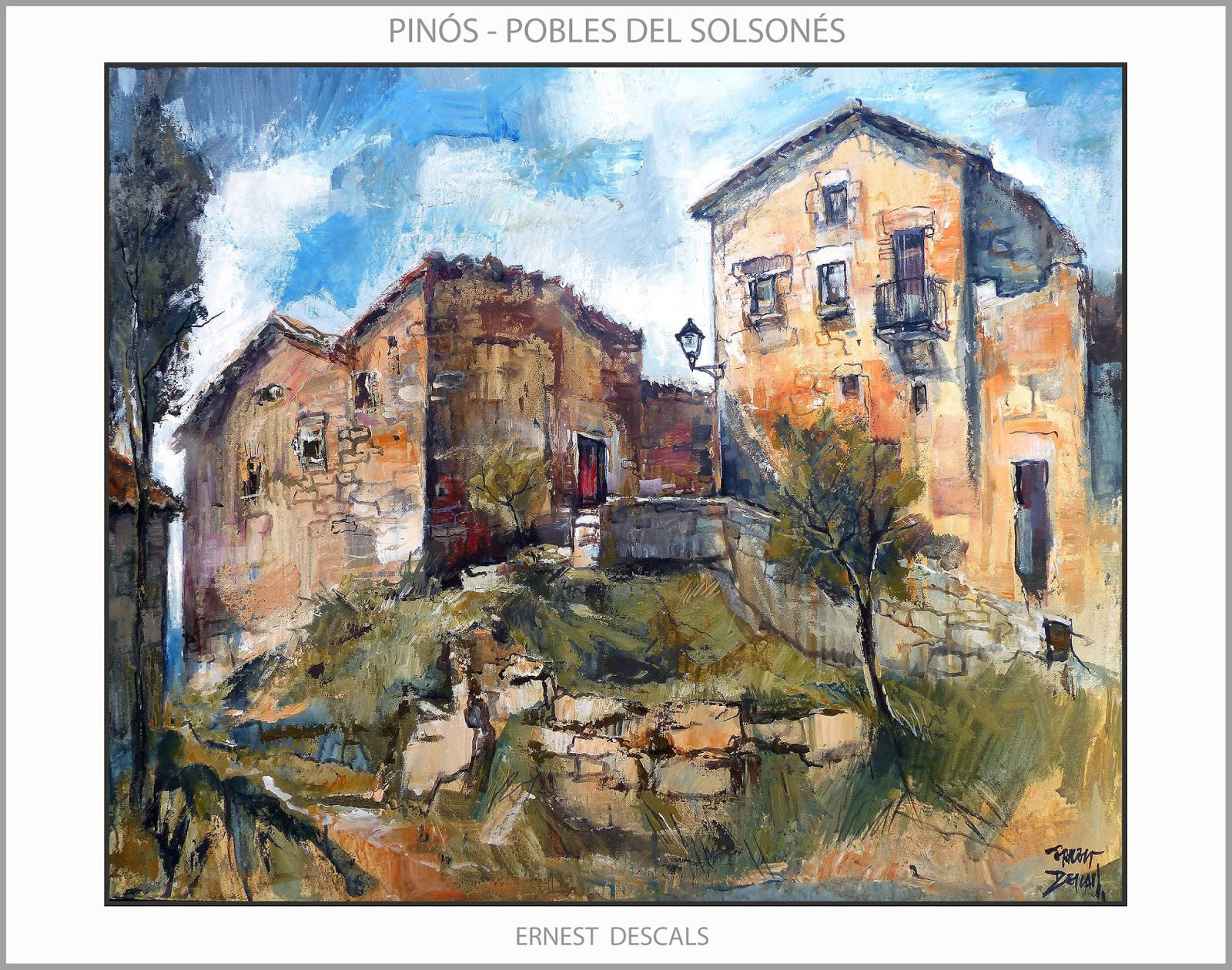 Ernest descals artista pintor pin s pintura paisatges - Pintores en lleida ...