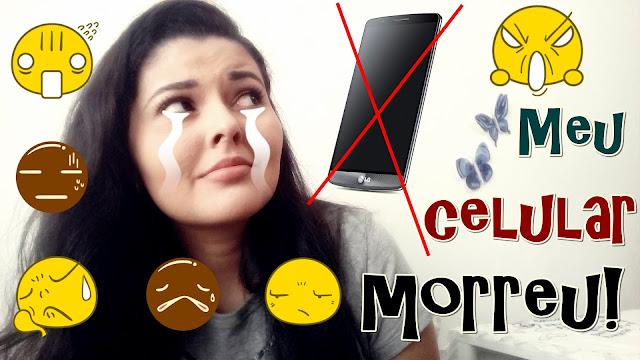 MEU CELULAR (LG G3) MORREU! | O que aconteceu? Como resolvi?